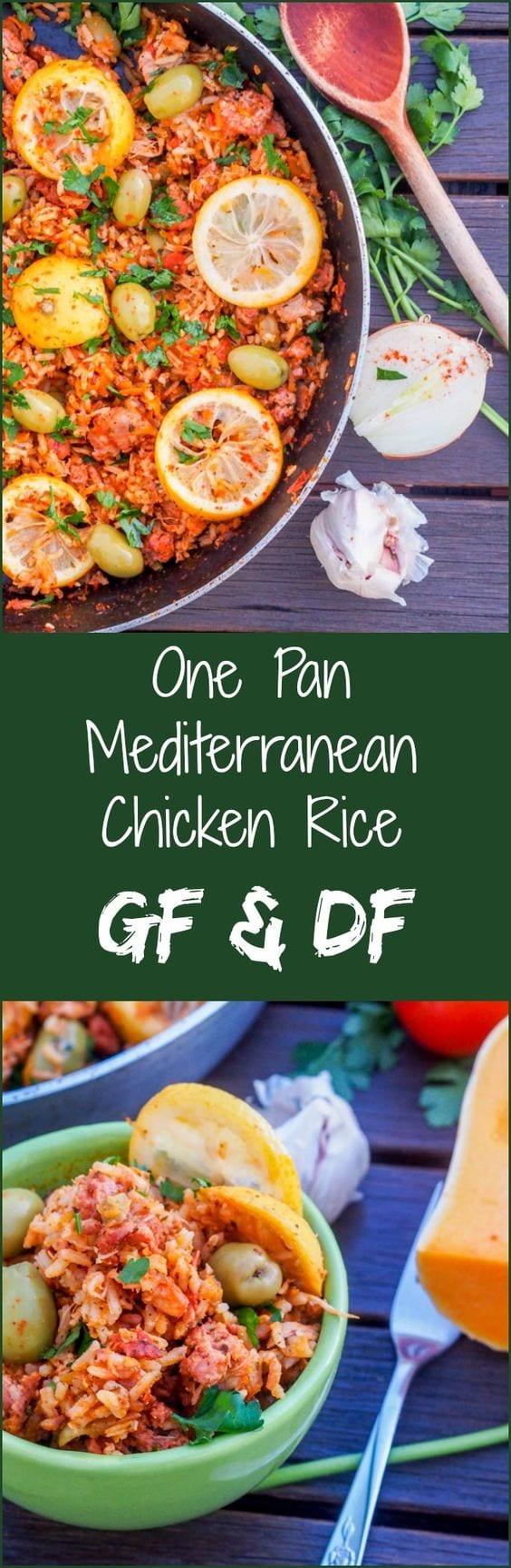 mediterranean rice pin