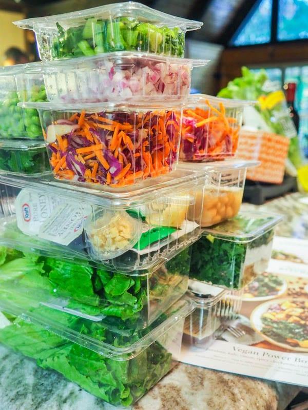 Terra's Kitchen ingredients in their packaging