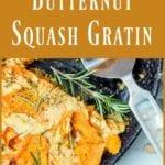butternut squash gratin pin