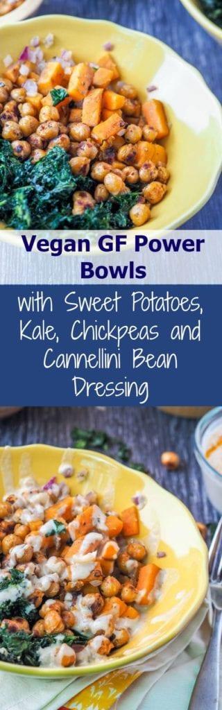 vegan power bowl pin