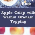 gluten free apple crisp pin