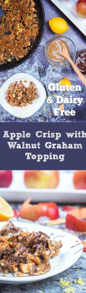 gluten free apple crisp pin