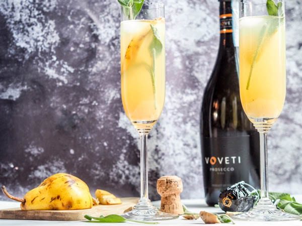 Winter Prosecco Cocktails made with Voveti