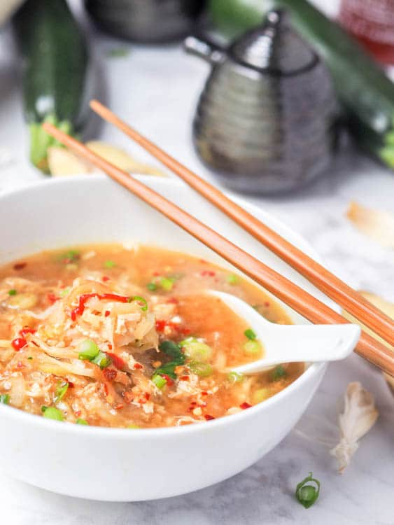 Asian egg drop soup Gluten Free and Dairy Free recipe