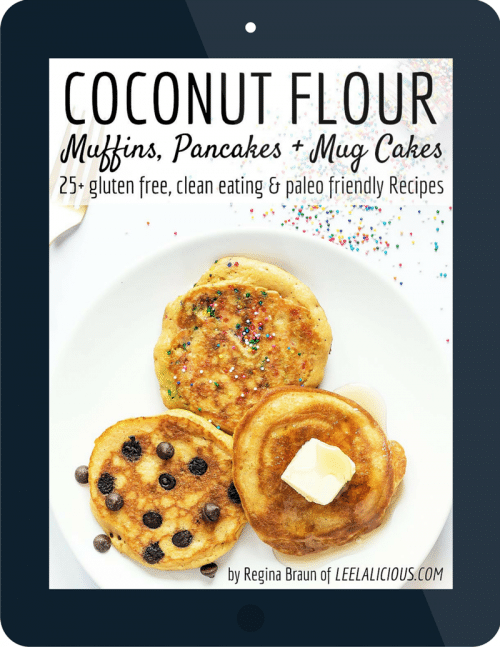 coconut flour cookbook