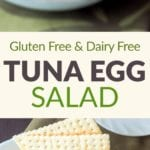 tuna egg salad pin