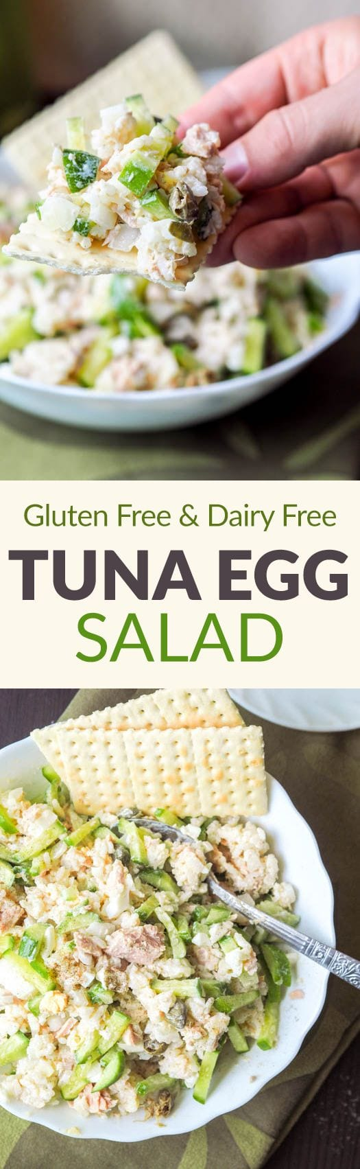 tuna egg salad pin