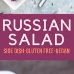 russian salad pin