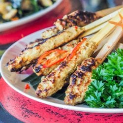 Grilled Fish Skewers -Balinese {GF, DF}