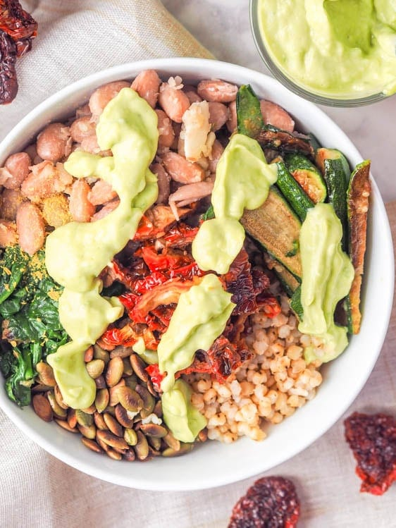 Sorghum Buddha Bowl recipe