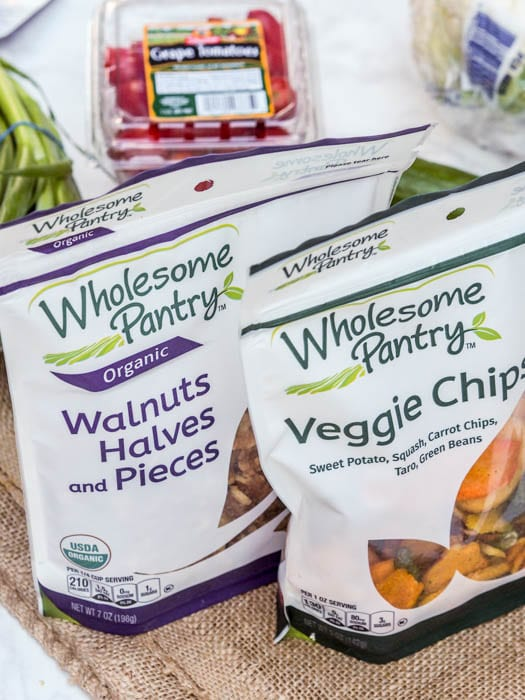 wholesome pantry walnuts and veggie chips