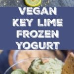 frozen key lime yogurt pin