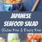 seafood salad pin