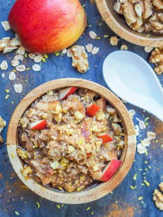 apple pie oatmeal ready to eat