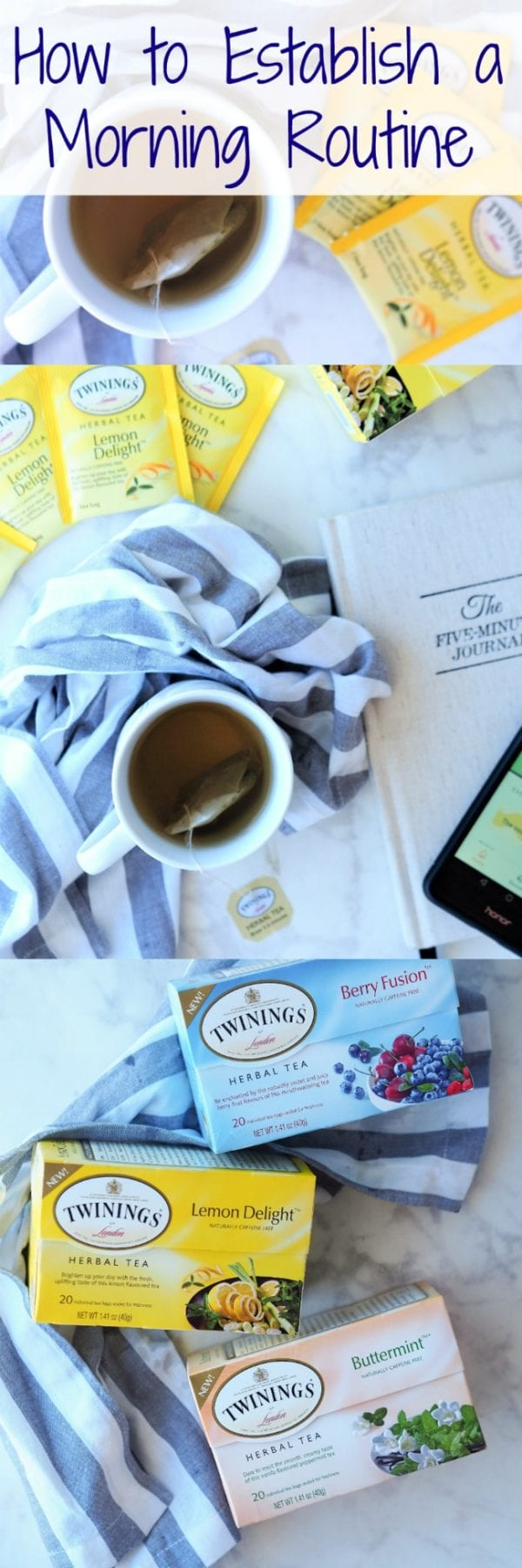 It's super important to start your day off right! Read about my morning routine – including my need for journaling, meditating, running and drinking a big cup of @TwiningsTeaUK Lemon Delight herbal blend every morning #ad #BeYourBestBlend
