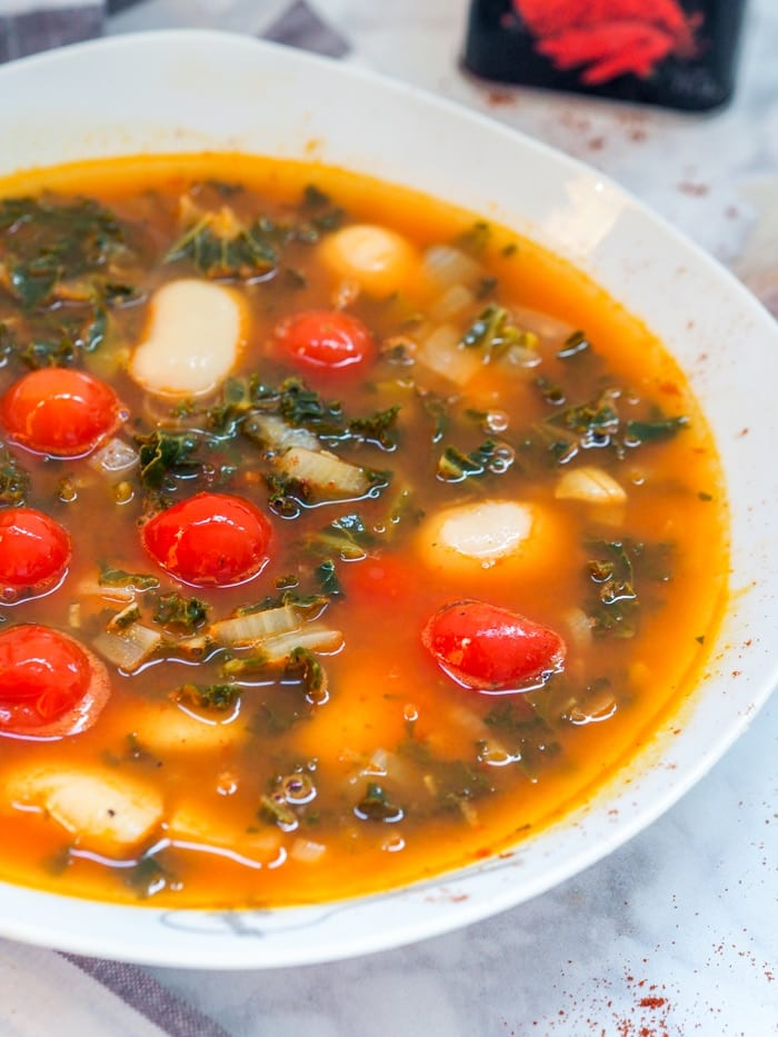 White Bean Kale Soup Recipe