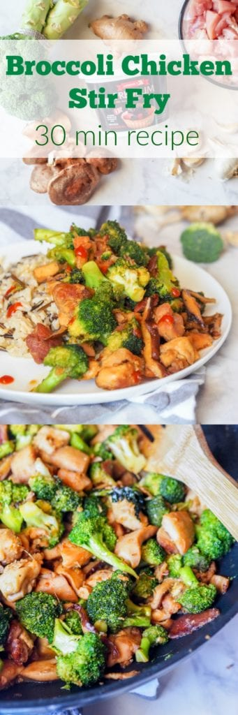 chicken broccoli stir fry PIN