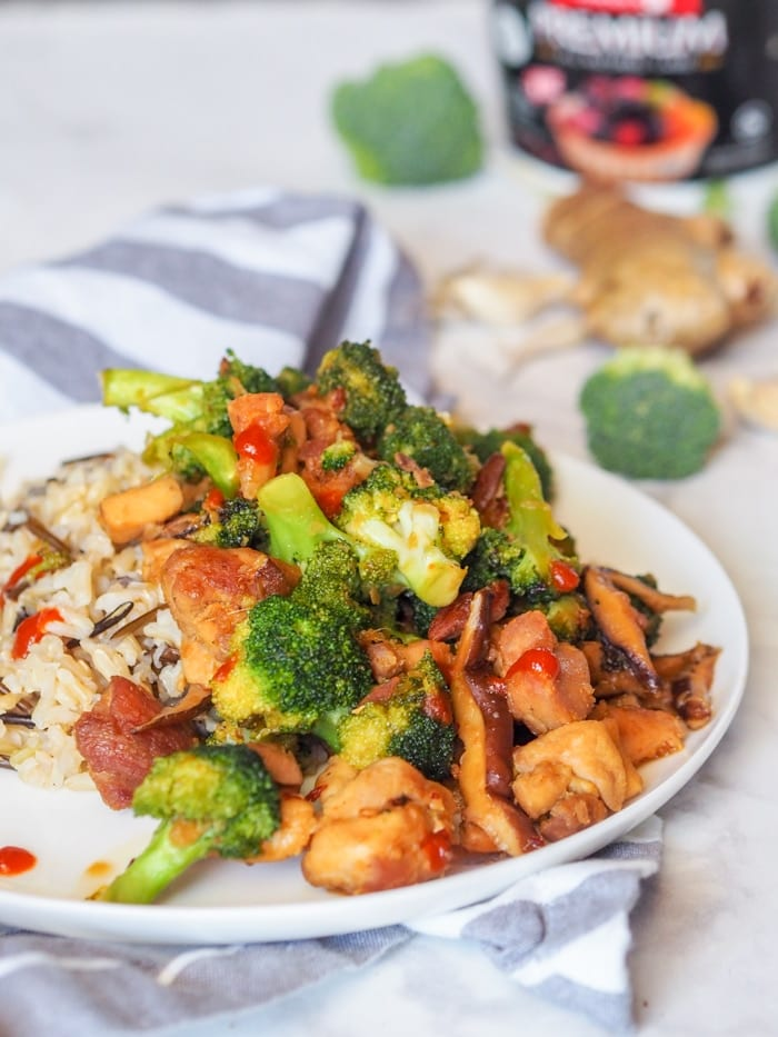 chicken broccoli stir fry recipe