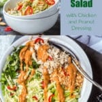 Asian cabbage salad pin