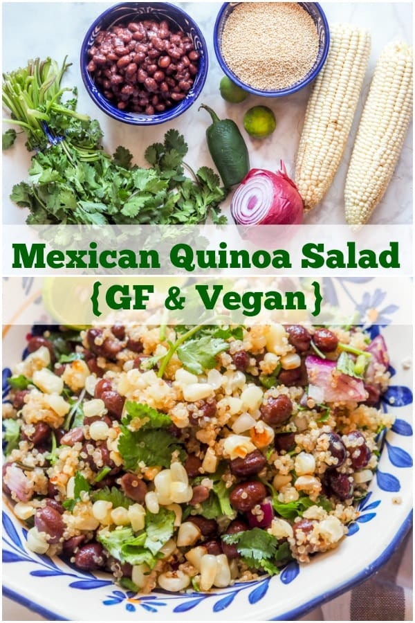 Mexican Quinoa Salad Pin