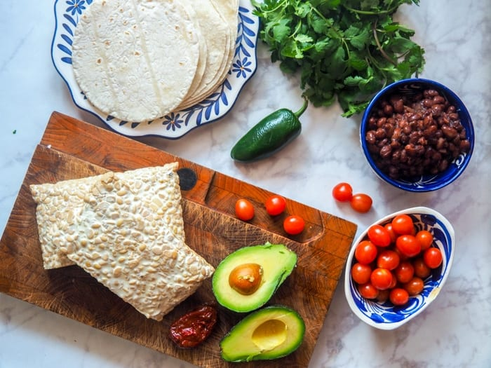 tempeh tacos ingredients