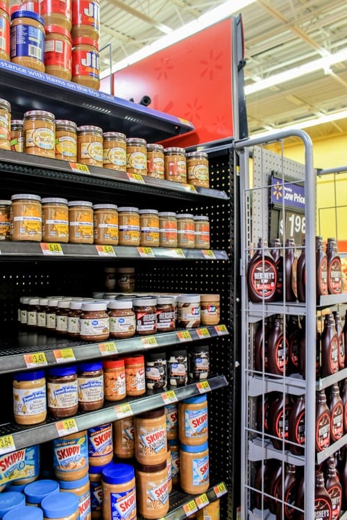 almond butter at Walmart_