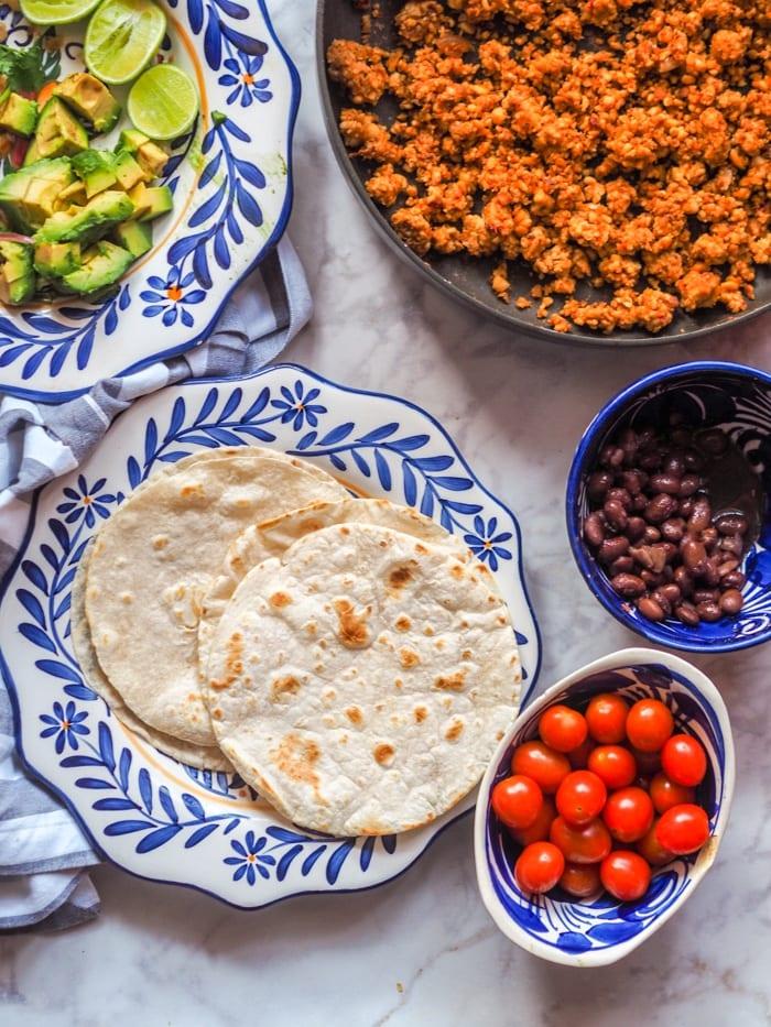 tempeh tacos filling