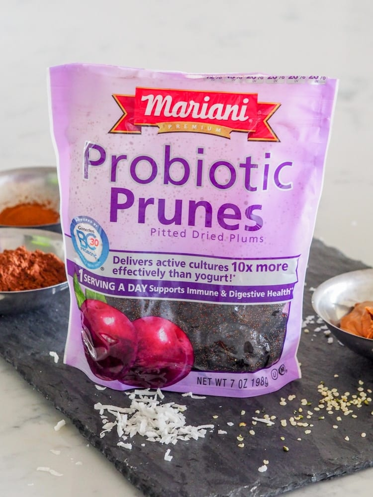 Probiotic Snacks Prune Energy Balls Avocado Pesto