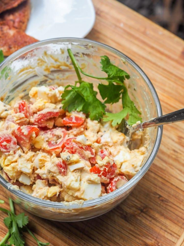 Egg Salad Hummus Recipe