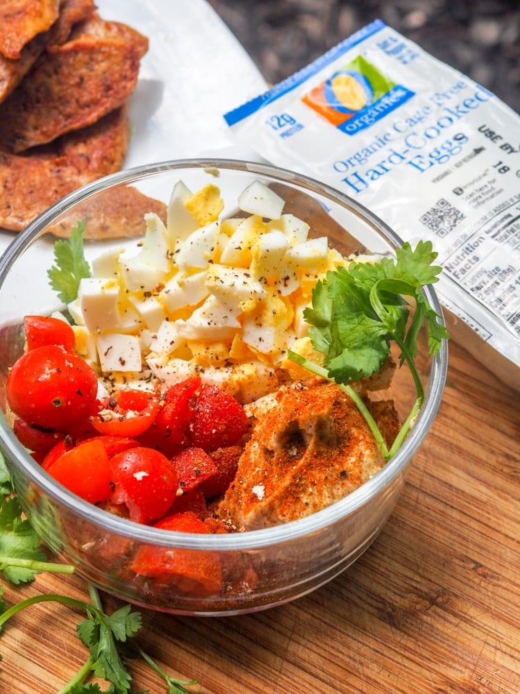 Hummus Egg Salad Ready to Mix