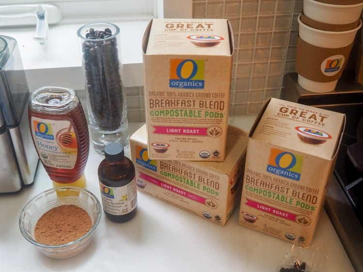 O Organics Coffee Station