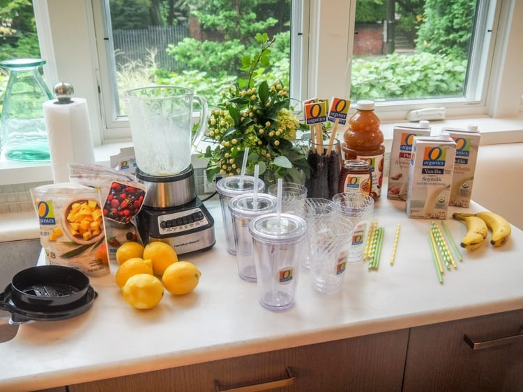 O Organics Smoothie Station