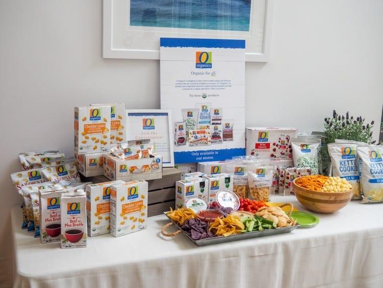 O Organics Snack Station