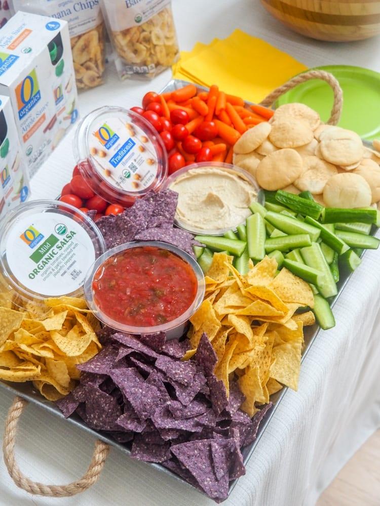 O Organics Snack Tray