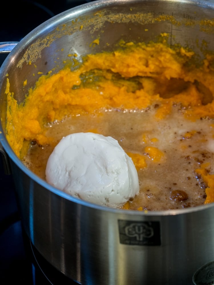 Whipped Sweet Potatoes Recipe with Coconut Cream