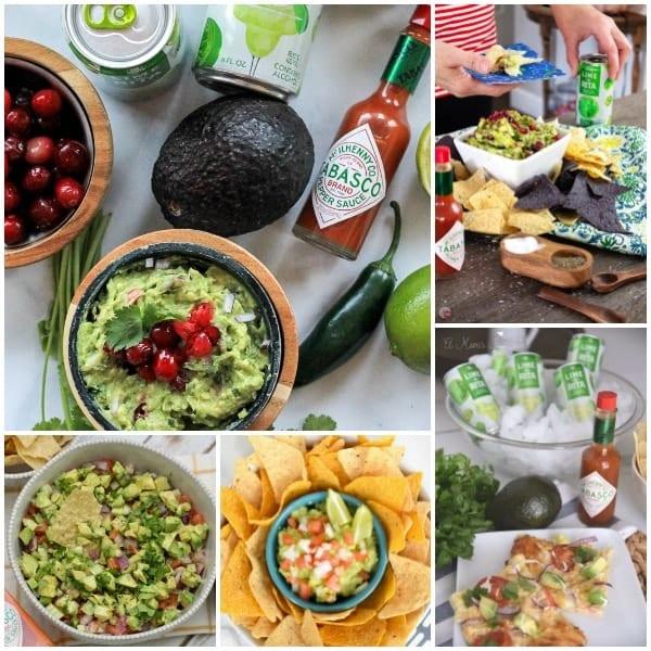 Avocado from Mexico recipe collage