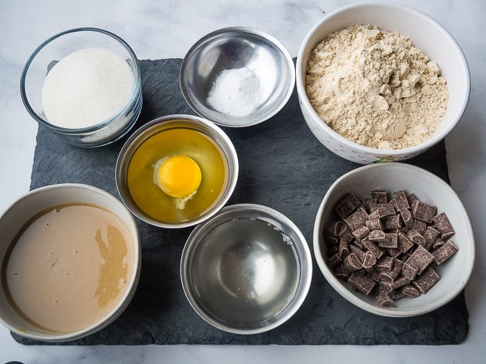 Paleo chocolate chip cookies ingredients