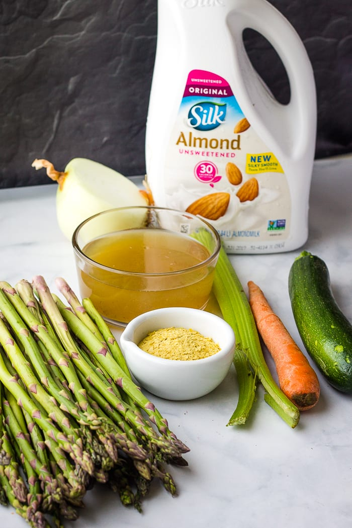 creamy asparagus soup ingredients