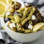 vegan pasta salad FG