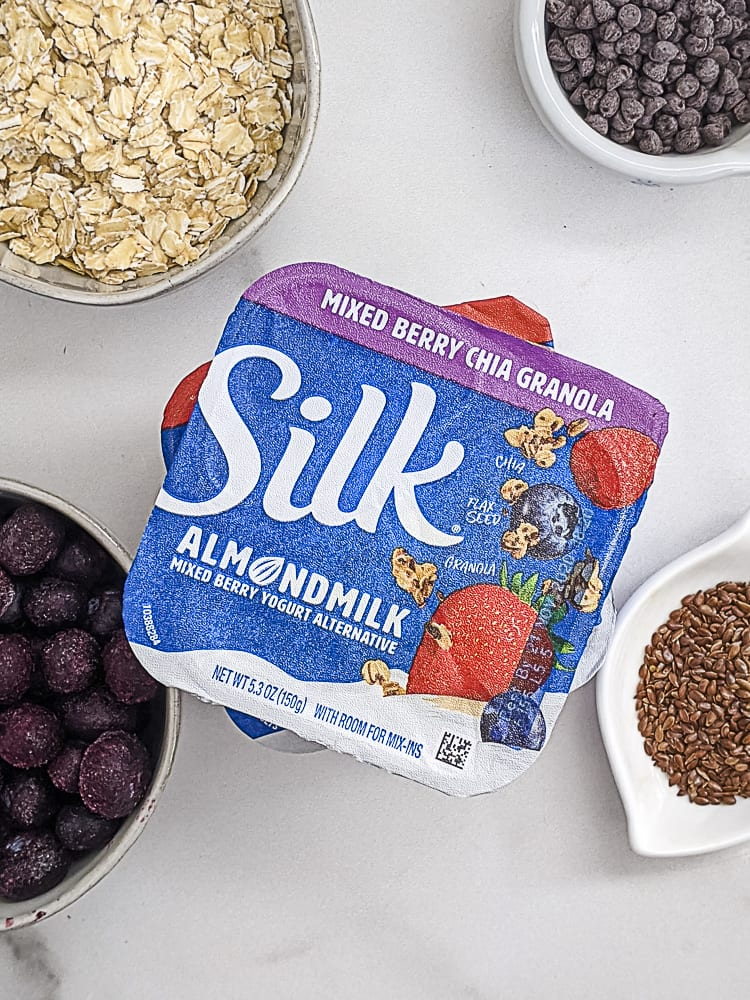 Silk Almondmilk Yogurt with Granola_