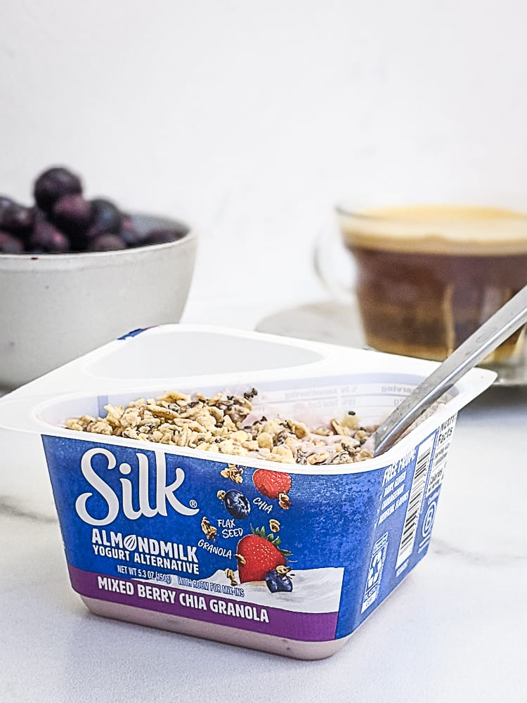 Silk Yogurt with Granola_