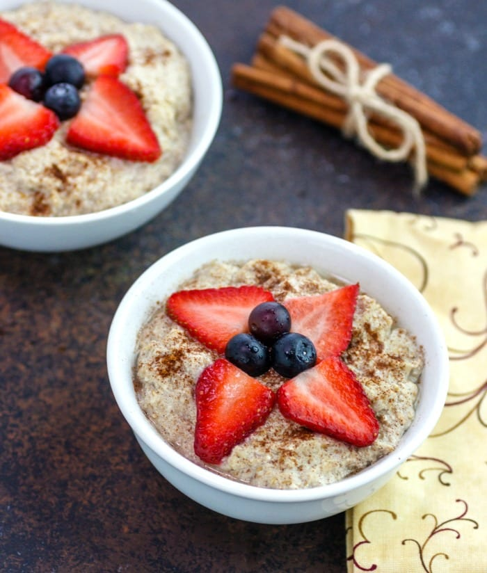 3-Minute Keto Creamy Hot Cereal