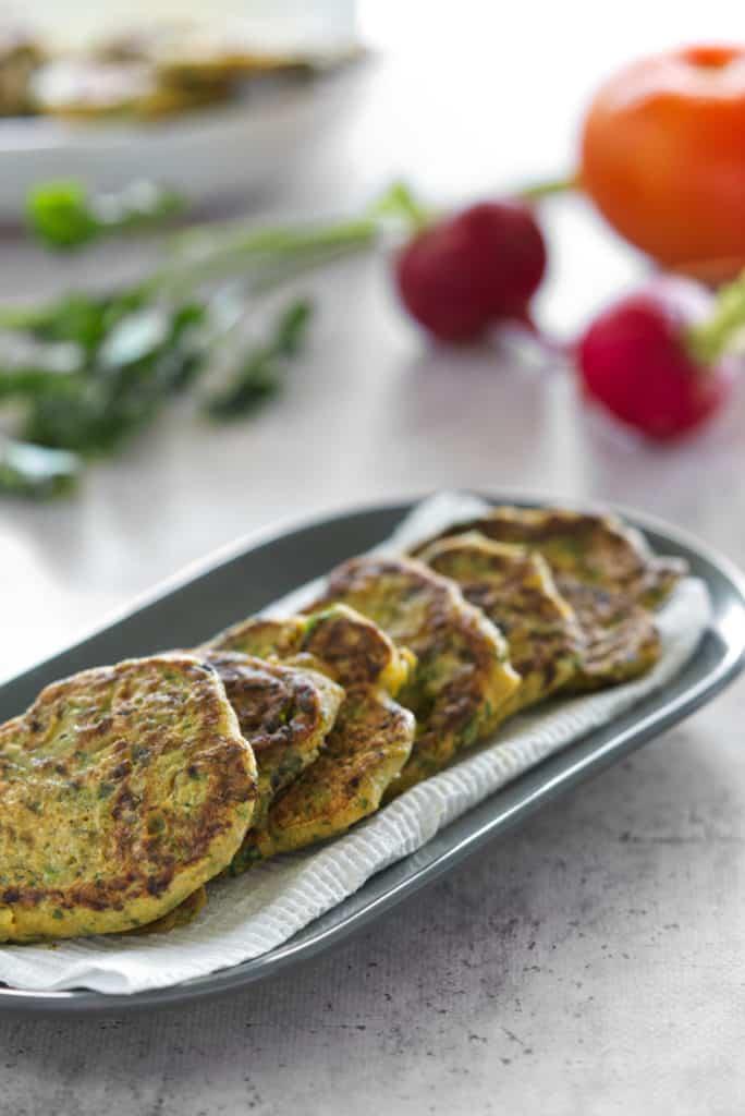 66. Vegan Lebanese Omelette (Ejjeh Recipe - A Lebanese herb omelette)
