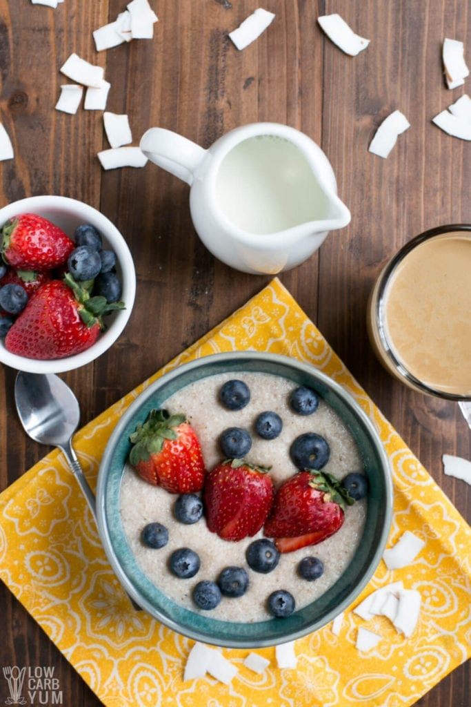Coconut Flour Porridge (Keto, Instant Pot)