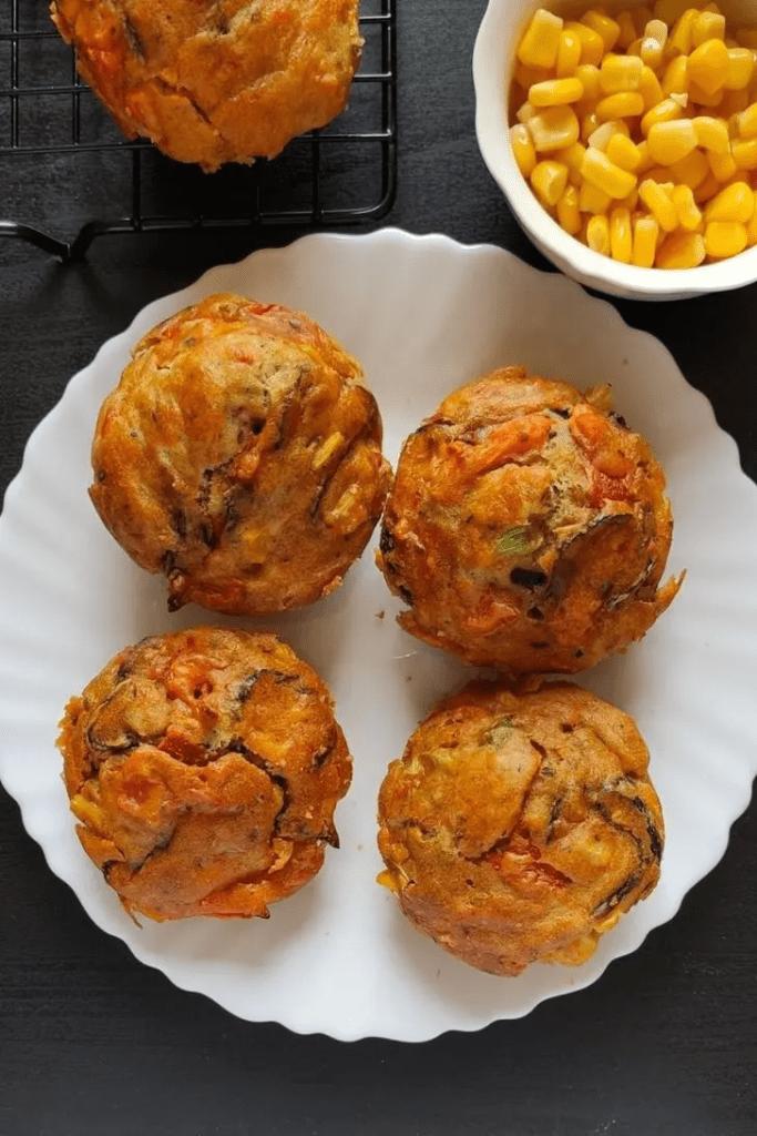 57. Vegan savoury muffins-y days
