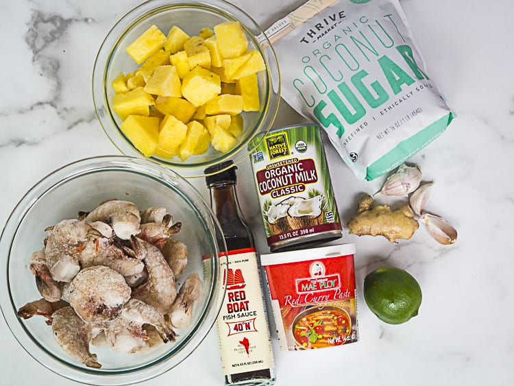 pineapple curry ingredients