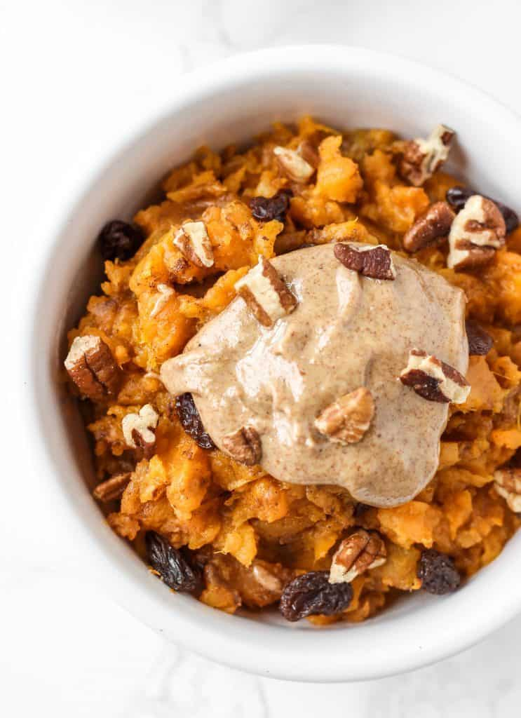 58. Sweet Potato Breakfast Bowl